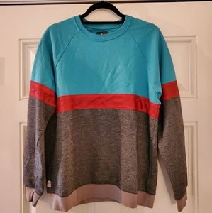 Color block sweatshirt, Hawkings McGill